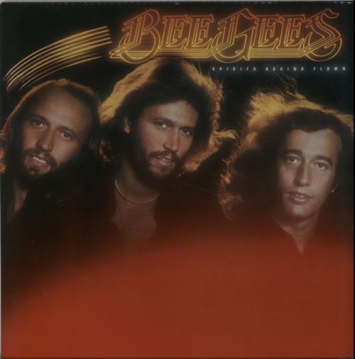 The Bee Gees Spirits Having Flown - French Contract vinyl LP album (LP record) UK BGELPSP616487