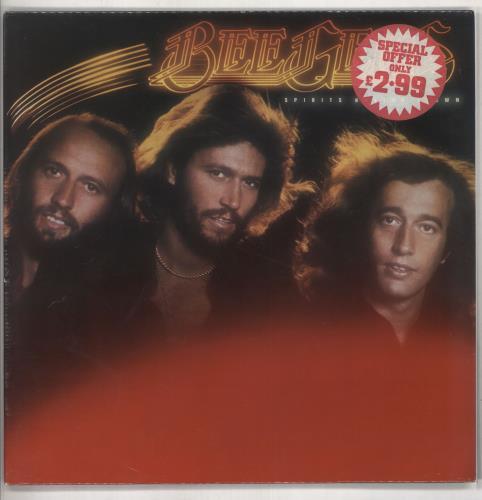 The Bee Gees Spirits Having Flown - Sealed vinyl LP album (LP record) UK BGELPSP735638
