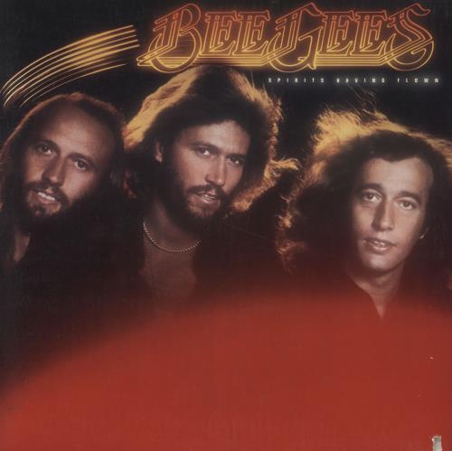 The Bee Gees Spirits Having Flown - UK p/s vinyl LP album (LP record) US BGELPSP687874