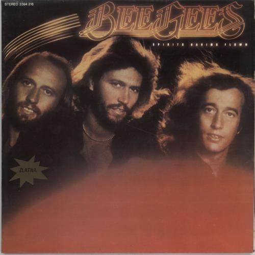 The Bee Gees Spirits Having Flown vinyl LP album (LP record) Yugoslavian BGELPSP765761