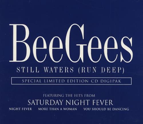 "The Bee Gees Still Waters (Run Deep) CD single (CD5 / 5"") UK BGEC5ST99215"