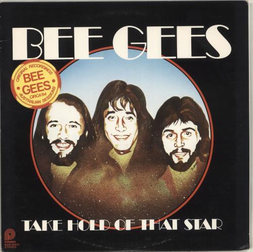 The Bee Gees Take Hold Of That Star vinyl LP album (LP record) US BGELPTA714329
