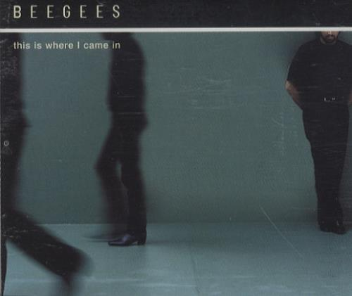 """The Bee Gees This Is Where I Came In CD single (CD5 / 5"""") UK BGEC5TH180210"""