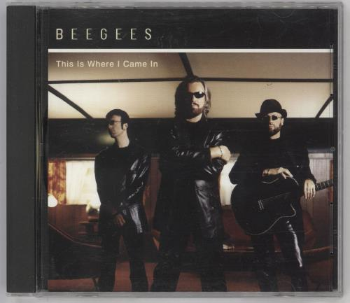 """The Bee Gees This Is Where I Came In CD single (CD5 / 5"""") US BGEC5TH181703"""