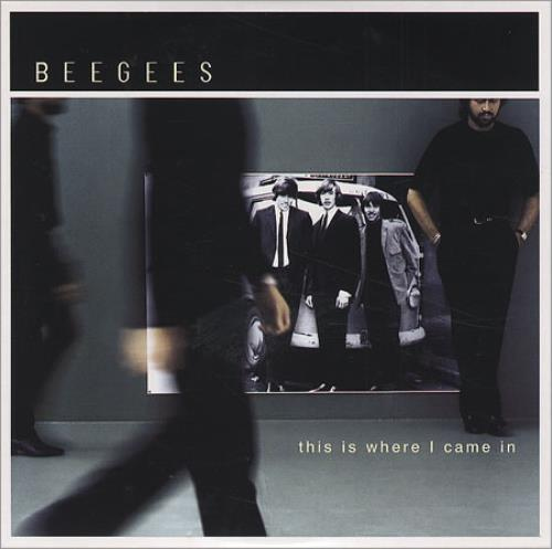The Bee Gees This Is Where I Came In CD-ROM French BGEROTH186690