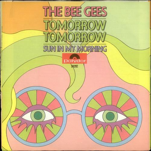 "The Bee Gees Tomorrow, Tomorrow 7"" vinyl single (7 inch record) Dutch BGE07TO540579"