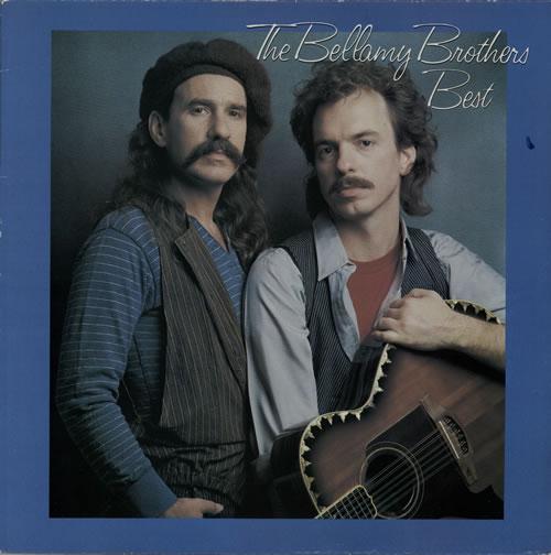 The Bellamy Brothers Best vinyl LP album (LP record) UK BMRLPBE576531