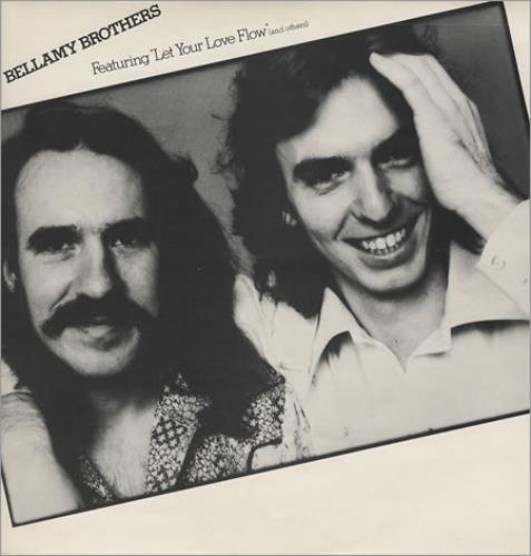 The Bellamy Brothers Featuring Let Your Love Flow vinyl LP album (LP record) UK BMRLPFE373824