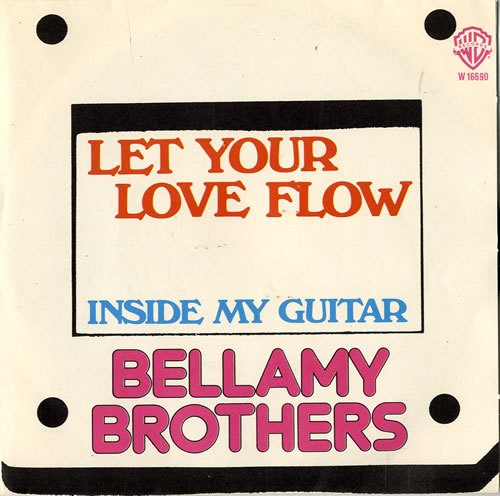 """The Bellamy Brothers Let Your Love Flow 7"""" vinyl single (7 inch record) Italian BMR07LE553619"""