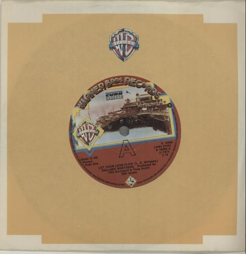 "The Bellamy Brothers Let Your Love Flow 7"" vinyl single (7 inch record) UK BMR07LE567677"
