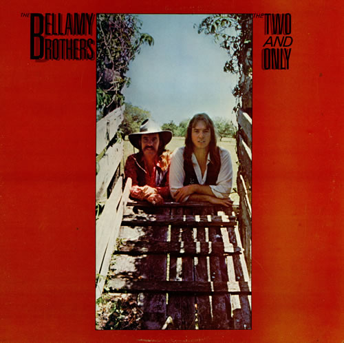 The Bellamy Brothers The Two And Only vinyl LP album (LP record) UK BMRLPTH457561