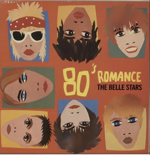 "The Belle Stars 80's Romance 12"" vinyl single (12 inch record / Maxi-single) UK BST12SR655537"