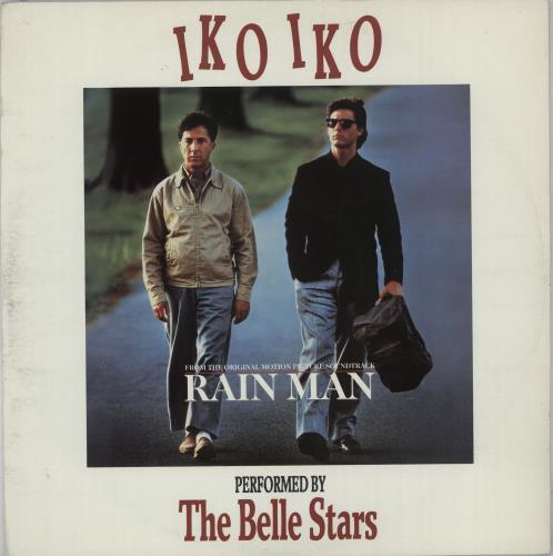 "The Belle Stars Iko Iko - Rain Man Sleeve 12"" vinyl single (12 inch record / Maxi-single) UK BST12IK98893"