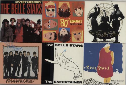"The Belle Stars Set Of Eleven 7"" Vinyl Singles 7"" vinyl single (7 inch record) UK BST07SE662073"