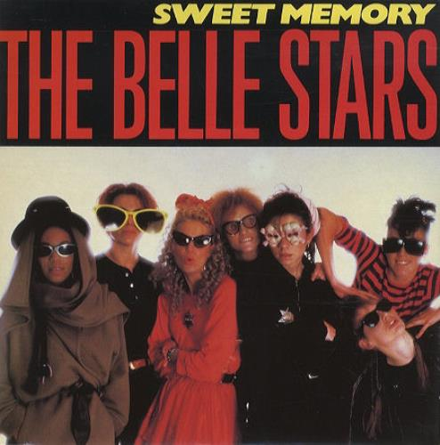 "The Belle Stars Sweet Memory 7"" vinyl single (7 inch record) UK BST07SW273224"