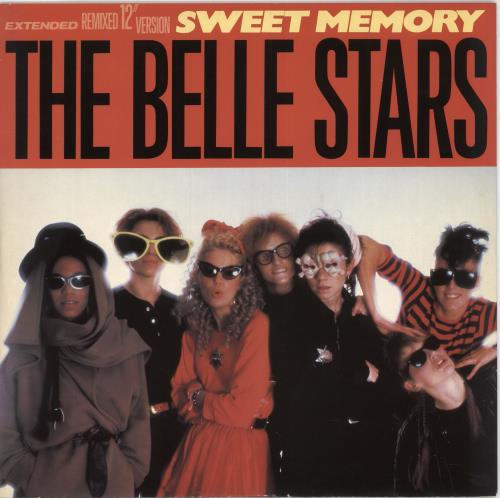 "The Belle Stars Sweet Memory 12"" vinyl single (12 inch record / Maxi-single) UK BST12SW746721"