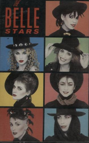 The Belle Stars The Belle Stars cassette album UK BSTCLTH649188