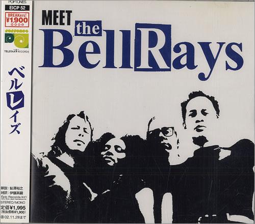The Bellrays Meet The Bellrays CD album (CDLP) Japanese TBYCDME480635