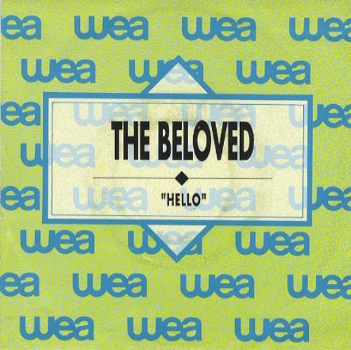 "The Beloved Hello 7"" vinyl single (7 inch record) Spanish BEL07HE191144"