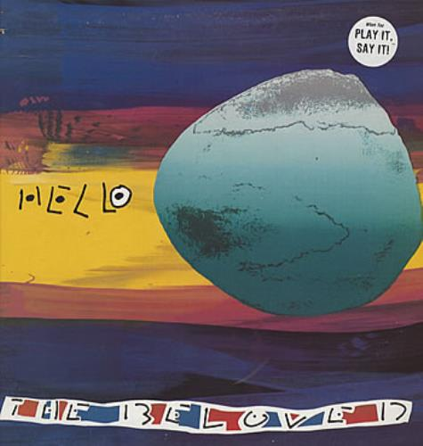 """The Beloved Hello 12"""" vinyl single (12 inch record / Maxi-single) US BEL12HE42167"""