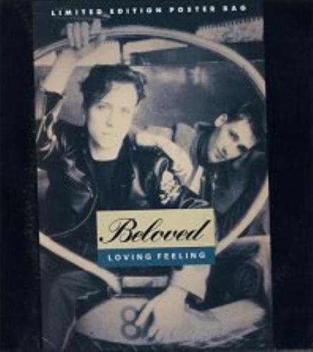"The Beloved Loving Feeling - Poster Slv 7"" vinyl single (7 inch record) UK BEL07LO04022"