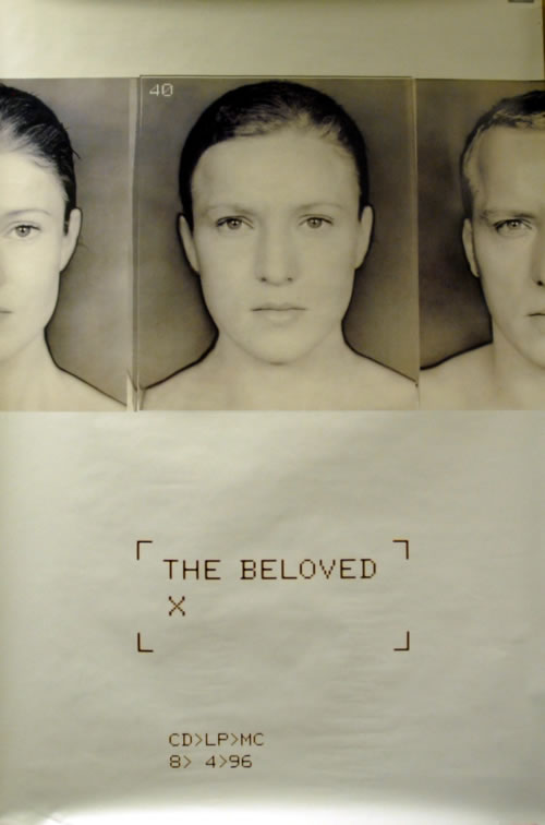 The Beloved X poster UK BELPOX65182