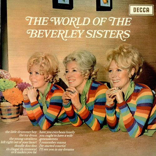 The Beverley Sisters The World Of The Beverley Sisters vinyl LP album (LP record) UK BS4LPTH458550