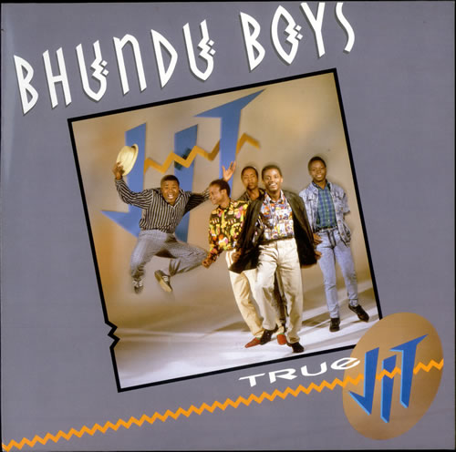 The Bhundu Boys True Jit vinyl LP album (LP record) UK BX4LPTR524249