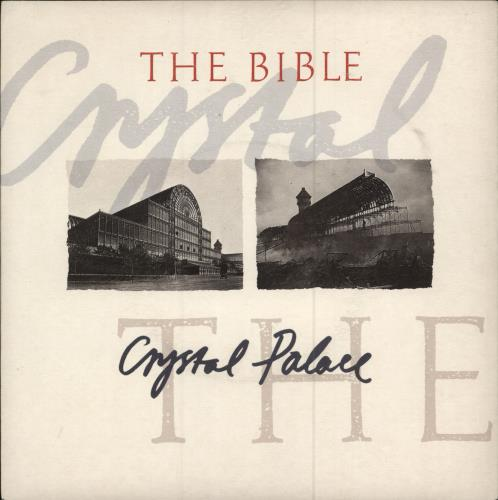 "The Bible Crystal Palace 7"" vinyl single (7 inch record) UK BIB07CR183400"