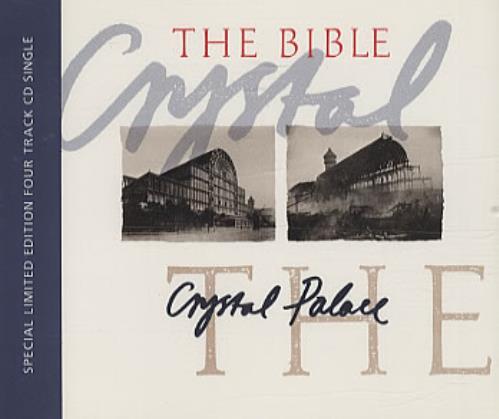"""The Bible Crystal Palace CD single (CD5 / 5"""") UK BIBC5CR77067"""