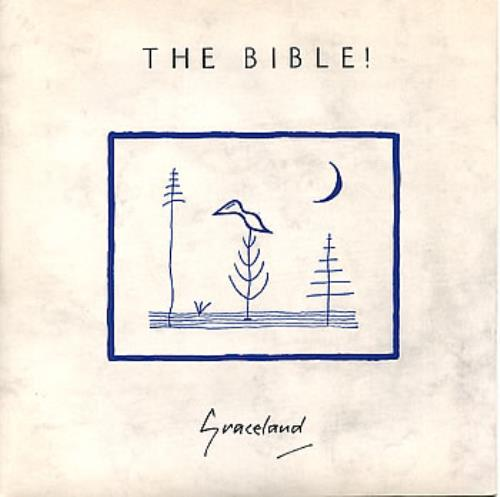 "The Bible Graceland 7"" vinyl single (7 inch record) UK BIB07GR294327"