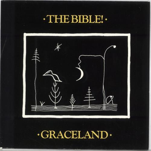 "The Bible Graceland 7"" vinyl single (7 inch record) UK BIB07GR709932"