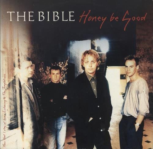 "The Bible Honey Be Good 12"" vinyl single (12 inch record / Maxi-single) UK BIB12HO733322"