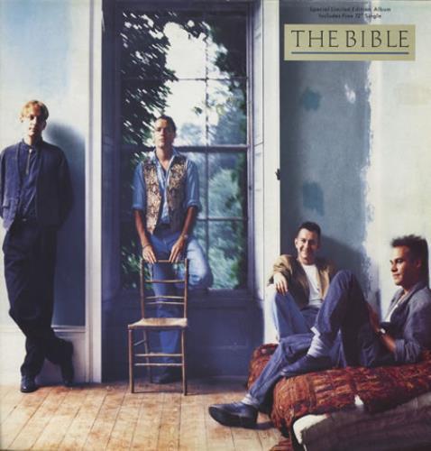 "The Bible The Bible + 12"" vinyl LP album (LP record) UK BIBLPTH231819"