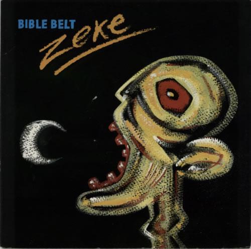 "The Bible Zeke 12"" vinyl single (12 inch record / Maxi-single) UK BIB12ZE618743"
