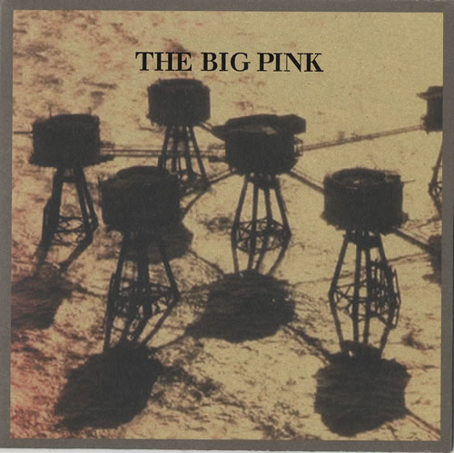 "The Big Pink Stop The World 7"" vinyl single (7 inch record) UK T7P07ST473376"