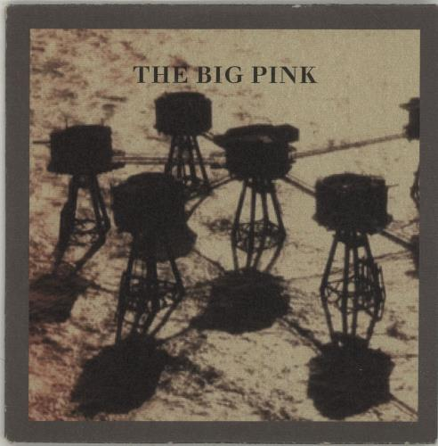 The Big Pink Stop The World CD-R acetate UK T7PCRST688011
