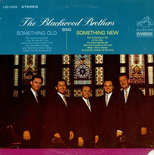 The Blackwood Brothers Sing Something Old/ Something New vinyl LP album (LP record) US 7BBLPSI466603