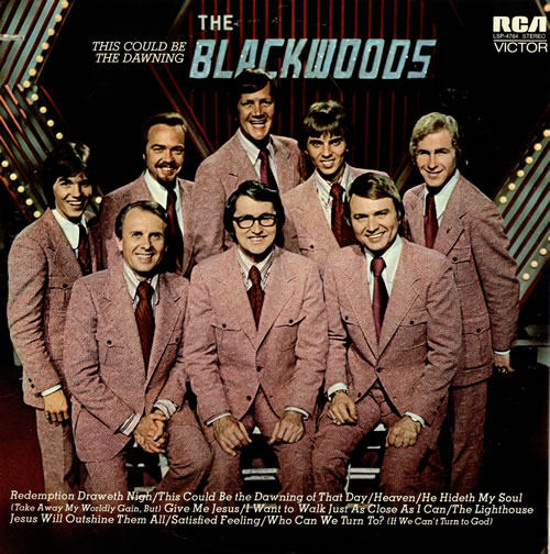 The Blackwood Brothers This Could Be The Dawning vinyl LP album (LP record) US 7BBLPTH466605