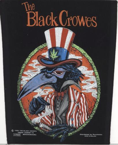 The Black Crowes 1993 Sew On Patch memorabilia UK CRWMMSE740864