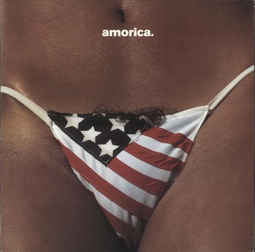 The Black Crowes Amorica - White Vinyl vinyl LP album (LP record) UK CRWLPAM706467