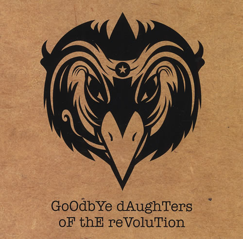 """The Black Crowes Goodbye Daughters Of The Revolution CD single (CD5 / 5"""") US CRWC5GO430233"""