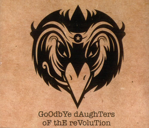 The Black Crowes Goodbye Daughters Of The Revolution CD-R acetate UK CRWCRGO523653