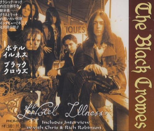"The Black Crowes Hotel Illness CD single (CD5 / 5"") Japanese CRWC5HO13676"