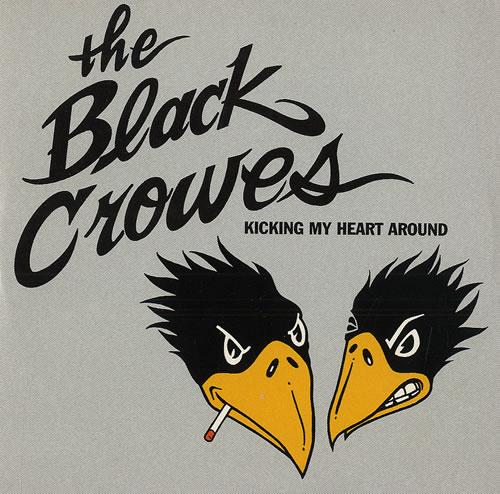 "The Black Crowes Kicking My Heart Around CD single (CD5 / 5"") UK CRWC5KI126391"