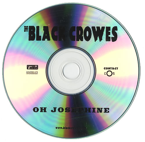 The Black Crowes Oh Josephine CD-R acetate US CRWCROH450077