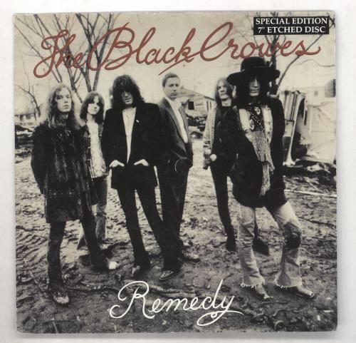"The Black Crowes Remedy - EX 7"" vinyl single (7 inch record) UK CRW07RE734838"
