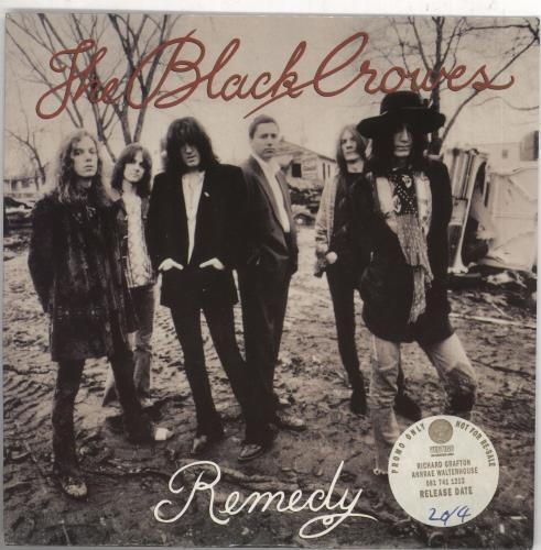 "The Black Crowes Remedy - Radio Edit 7"" vinyl single (7 inch record) UK CRW07RE05594"