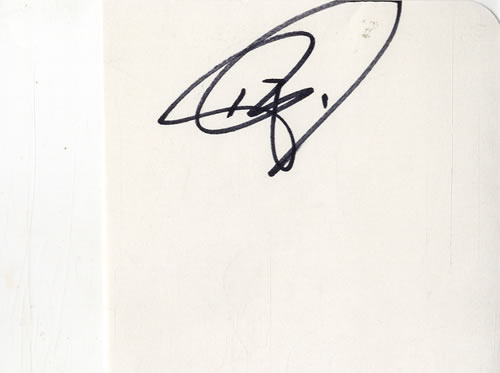 The Black Crowes Three Pages Of An Autograph Book memorabilia UK CRWMMTH601589