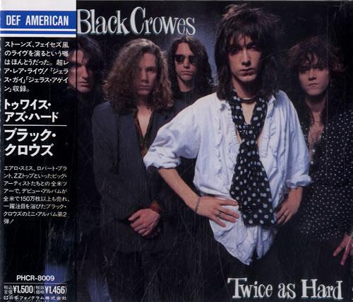 "The Black Crowes Twice As Hard CD single (CD5 / 5"") Japanese CRWC5TW153963"